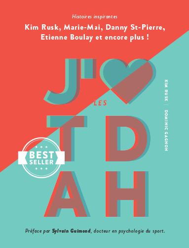 Couverture du livre J'M les TDAH par Kim Rusk