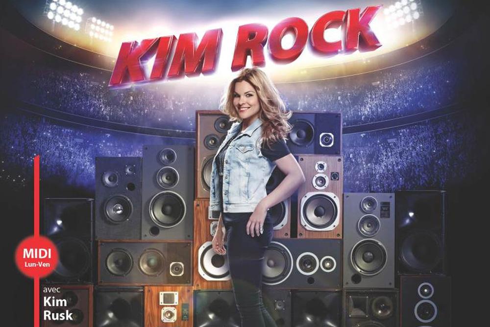 Kim Rock à CKOI