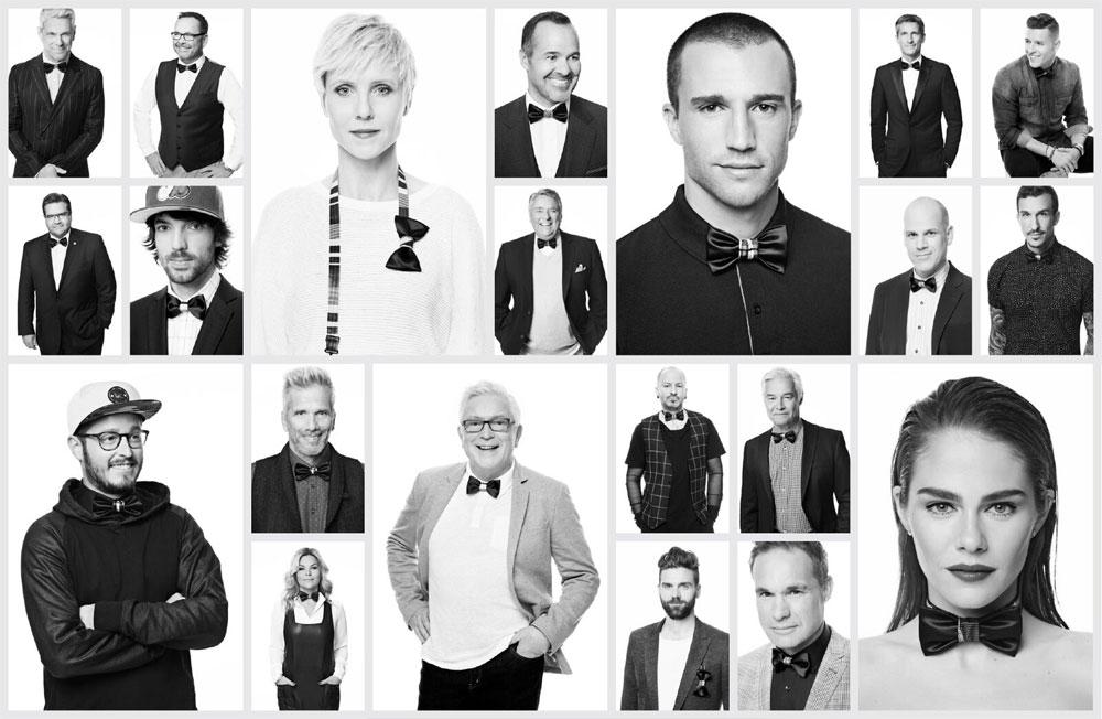 21 ambassadeurs de la campagne NŒUDVEMBRE