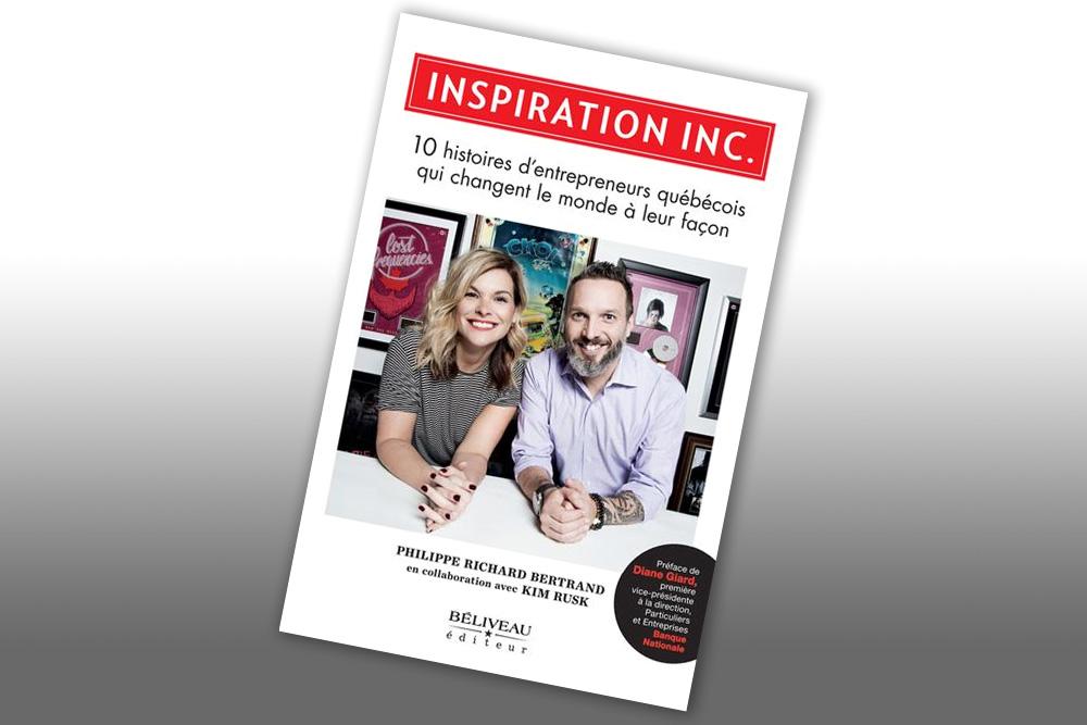 Kim Rusk lance le livre Inspiration Inc.